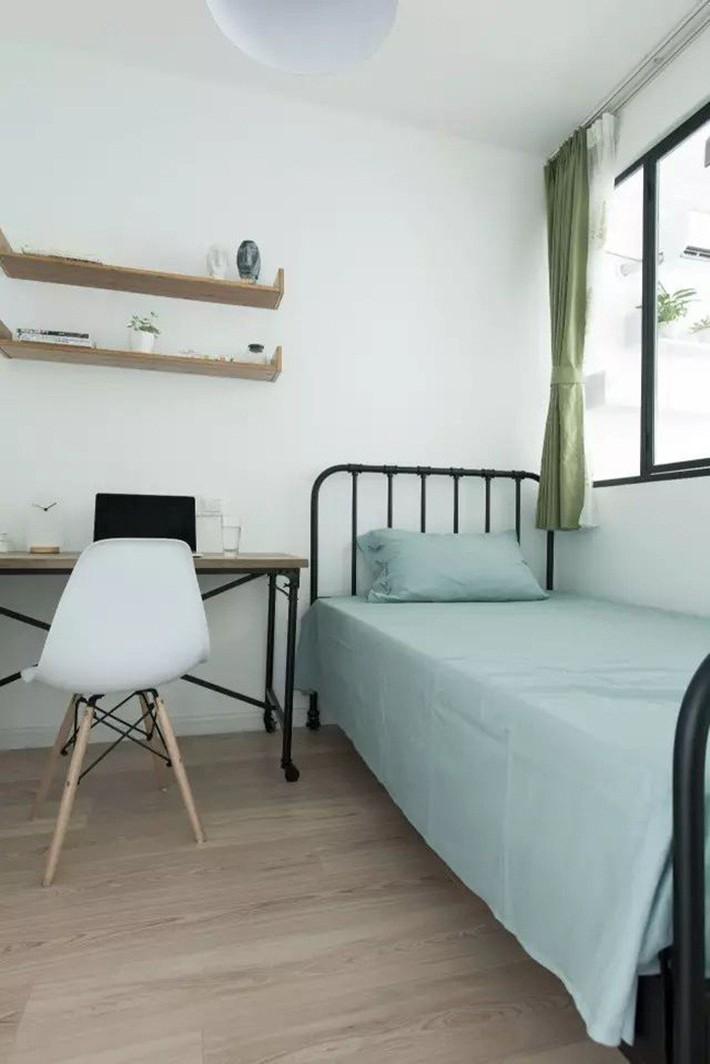 49m² vẫn tươm tất cho 2 phòng ngủ và cuộc sống không thể tuyệt vời hơn khi cải tạo từ căn hộ cũ kỹ - Ảnh 9.