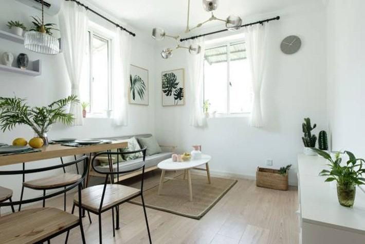 49m² vẫn tươm tất cho 2 phòng ngủ và cuộc sống không thể tuyệt vời hơn khi cải tạo từ căn hộ cũ kỹ - Ảnh 4.