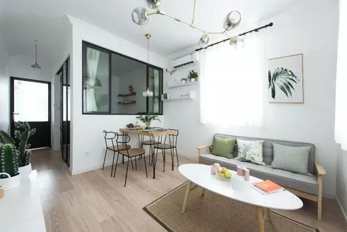49m² vẫn tươm tất cho 2 phòng ngủ và cuộc sống không thể tuyệt vời hơn khi cải tạo từ căn hộ cũ kỹ - Ảnh 3.