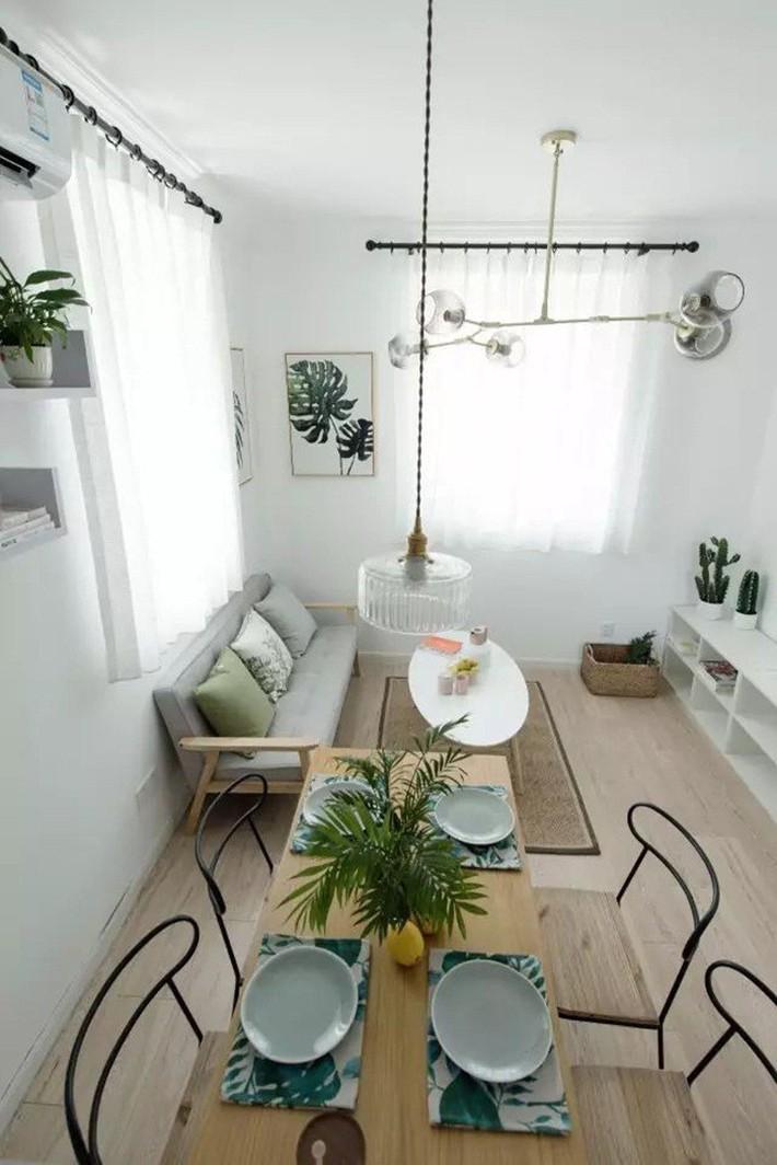 49m² vẫn tươm tất cho 2 phòng ngủ và cuộc sống không thể tuyệt vời hơn khi cải tạo từ căn hộ cũ kỹ - Ảnh 8.