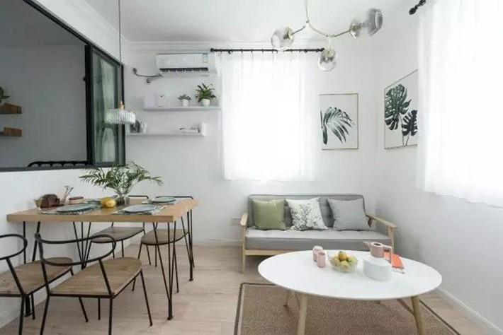 49m² vẫn tươm tất cho 2 phòng ngủ và cuộc sống không thể tuyệt vời hơn khi cải tạo từ căn hộ cũ kỹ - Ảnh 7.