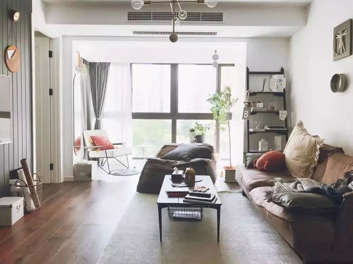 Căn hộ 100m2 đẹp mềm mại và lạ mắt với nội thất IKEA của cô nàng độc thân - Ảnh 3.