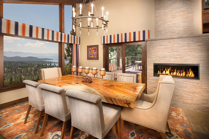 Những thiết kế nhỏ mà có võ cho phòng ăn của gia đình luôn ấm cúng - Ảnh 2.