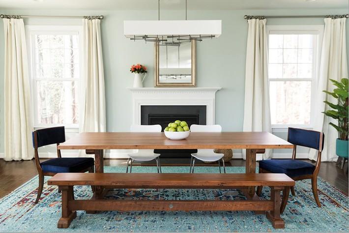 Những thiết kế nhỏ mà có võ cho phòng ăn của gia đình luôn ấm cúng - Ảnh 19.