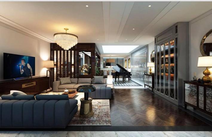 Ngắm căn hộ siêu sang vợ chồng ca sĩ Tuấn Hưng sắp chuyển đến sống ở Hà Nội - Ảnh 3.