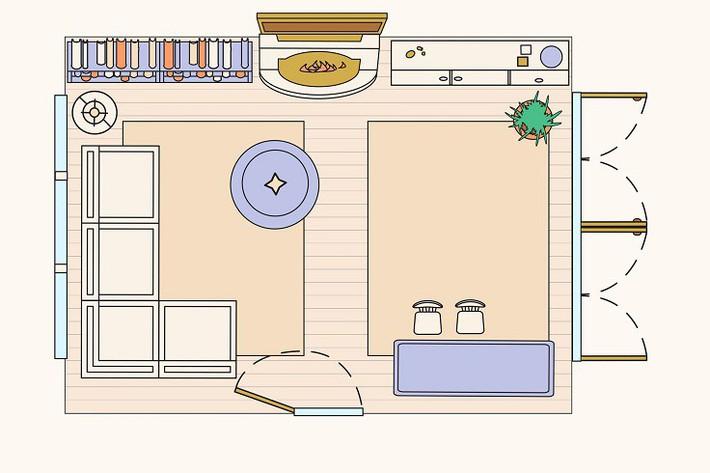 Có 10 bản vẽ thiết kế phòng khách cực tỉ mỉ này thì bạn còn lo gì việc trăn trở xem bố trí phòng khách thế nào cho hợp lý - Ảnh 8.
