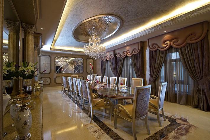 Những thiết kế phòng ăn dành riêng cho những gia đình yêu thích phong cách cổ điển - Ảnh 1.