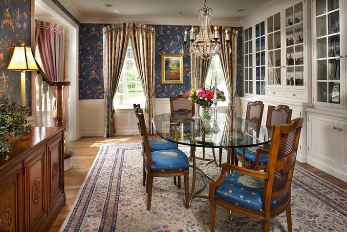 Những thiết kế phòng ăn dành riêng cho những gia đình yêu thích phong cách cổ điển - Ảnh 2.