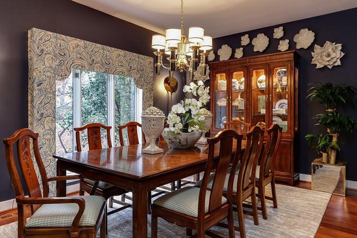 Những thiết kế phòng ăn dành riêng cho những gia đình yêu thích phong cách cổ điển - Ảnh 3.
