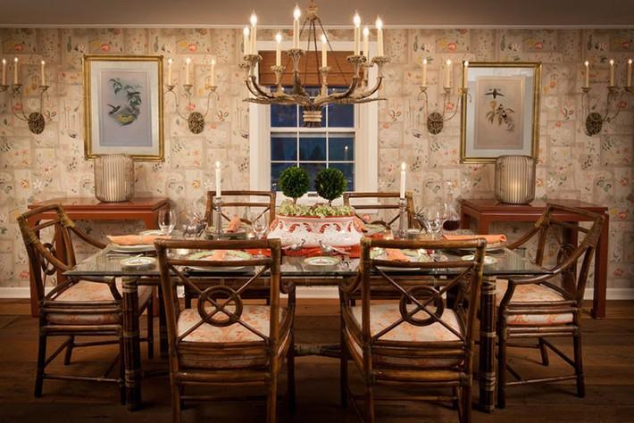 Những thiết kế phòng ăn dành riêng cho những gia đình yêu thích phong cách cổ điển - Ảnh 8.