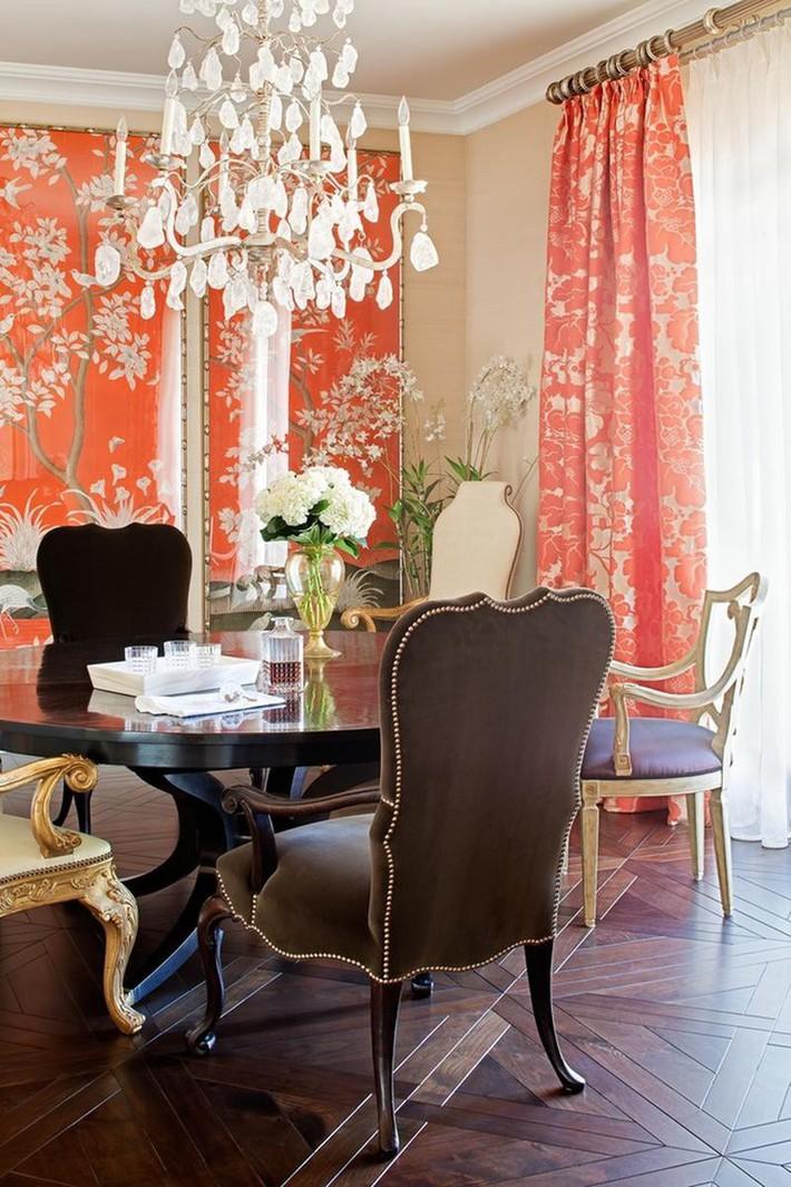 Những thiết kế phòng ăn dành riêng cho những gia đình yêu thích phong cách cổ điển - Ảnh 9.