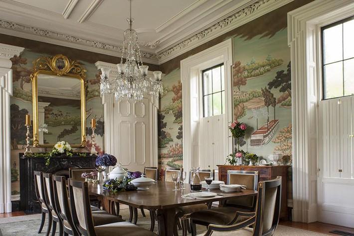 Những thiết kế phòng ăn dành riêng cho những gia đình yêu thích phong cách cổ điển - Ảnh 10.