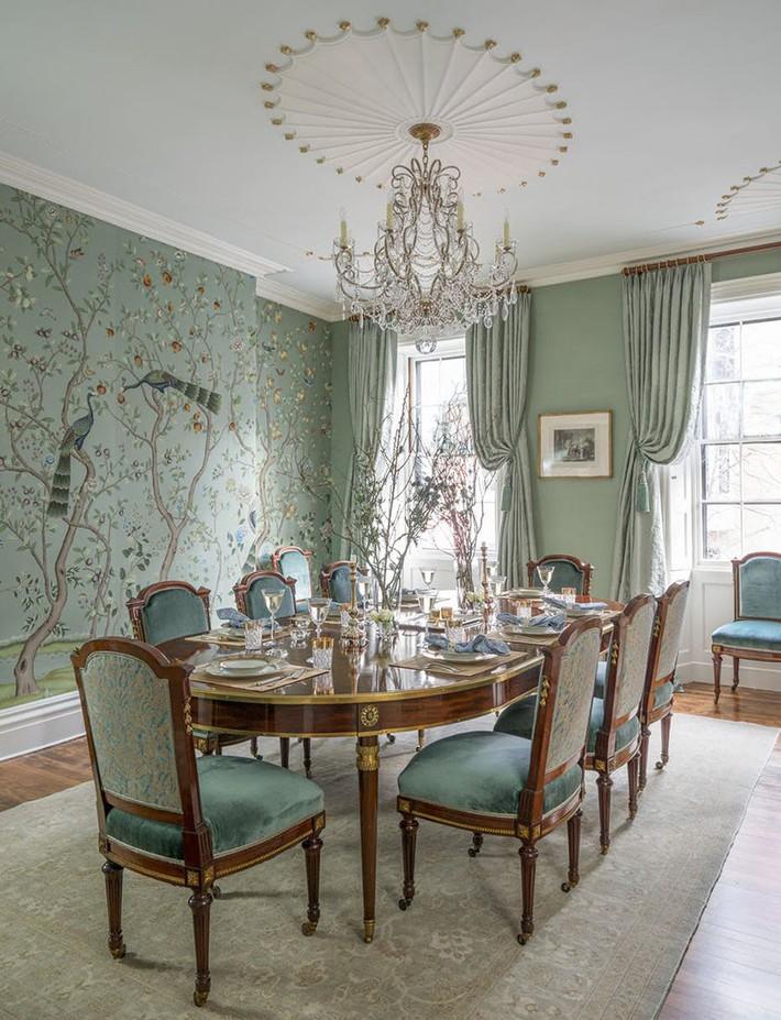 Những thiết kế phòng ăn dành riêng cho những gia đình yêu thích phong cách cổ điển - Ảnh 11.