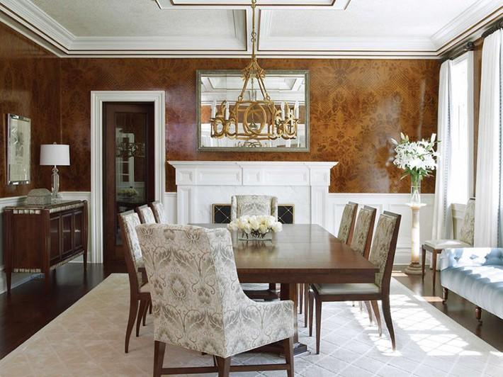 Những thiết kế phòng ăn dành riêng cho những gia đình yêu thích phong cách cổ điển - Ảnh 12.