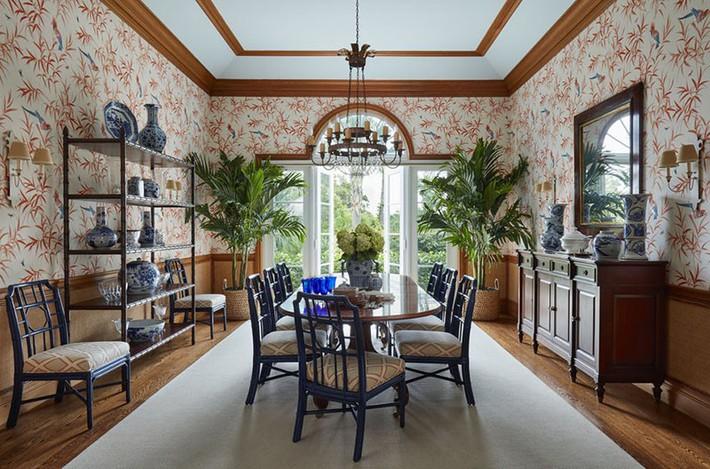 Những thiết kế phòng ăn dành riêng cho những gia đình yêu thích phong cách cổ điển - Ảnh 20.