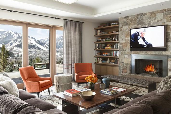 Phong cách nào cũng được những bạn không thể bỏ qua yếu tố này khi thiết kế phòng khách - Ảnh 11.