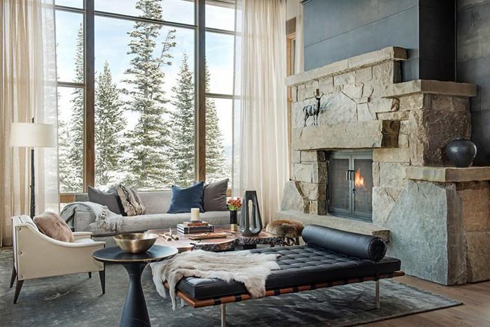 Phong cách nào cũng được những bạn không thể bỏ qua yếu tố này khi thiết kế phòng khách - Ảnh 12.