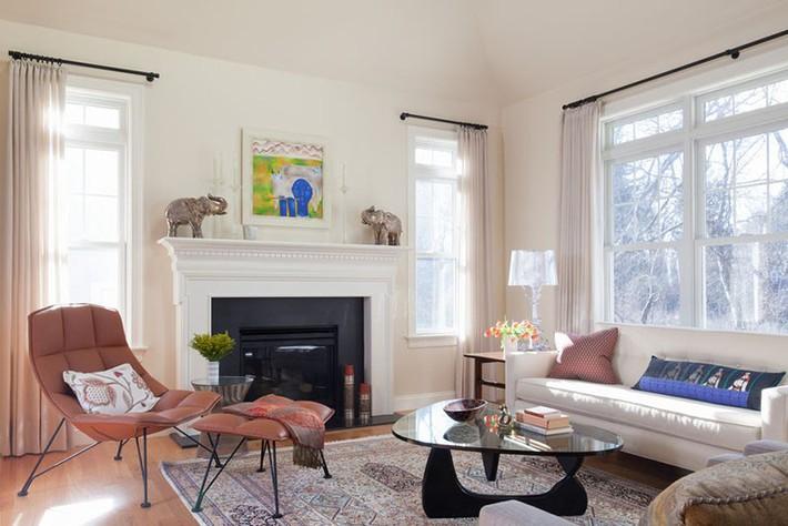 Phong cách nào cũng được những bạn không thể bỏ qua yếu tố này khi thiết kế phòng khách - Ảnh 19.