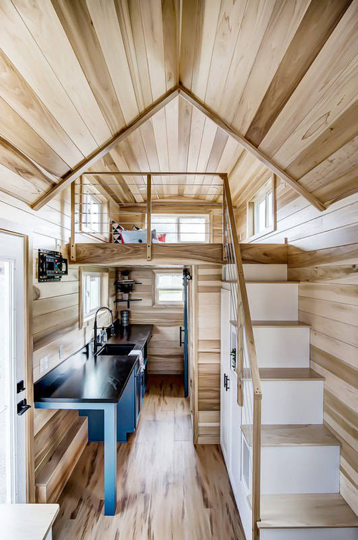 3 ngôi nhà nhỏ xinh nhưng sẽ nằm trong mơ của bất cứ ai muốn tiết kiệm diện tích - Ảnh 8.