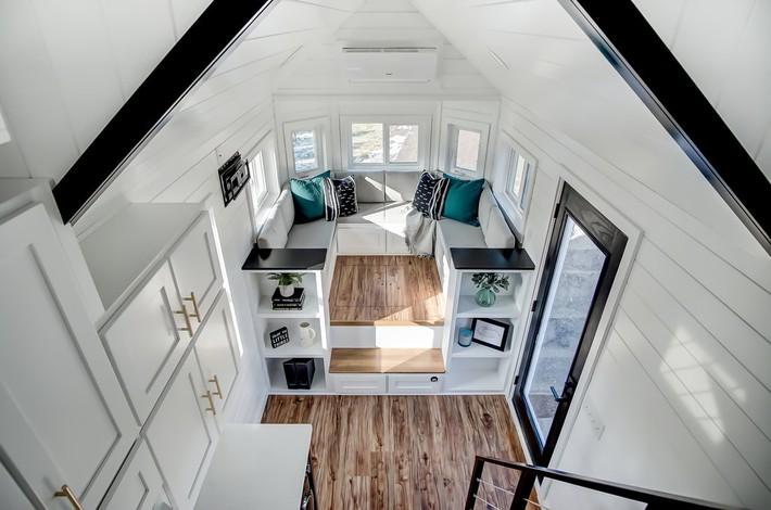 3 ngôi nhà nhỏ xinh nhưng sẽ nằm trong mơ của bất cứ ai muốn tiết kiệm diện tích - Ảnh 12.