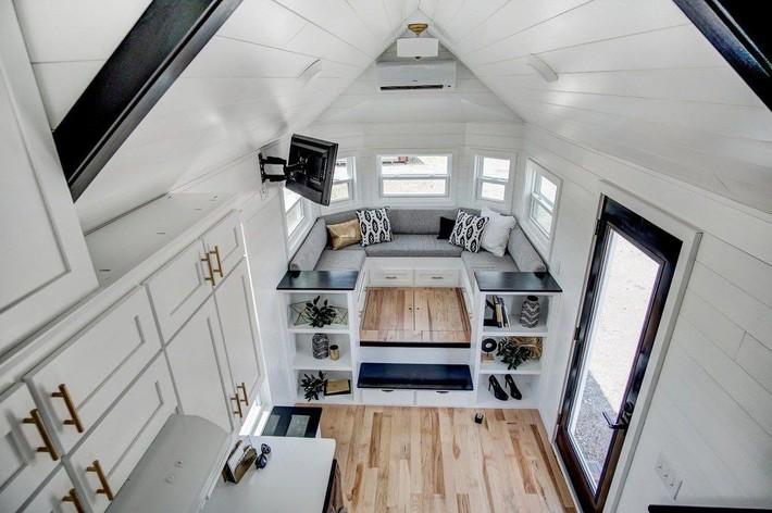 3 ngôi nhà nhỏ xinh nhưng sẽ nằm trong mơ của bất cứ ai muốn tiết kiệm diện tích - Ảnh 6.