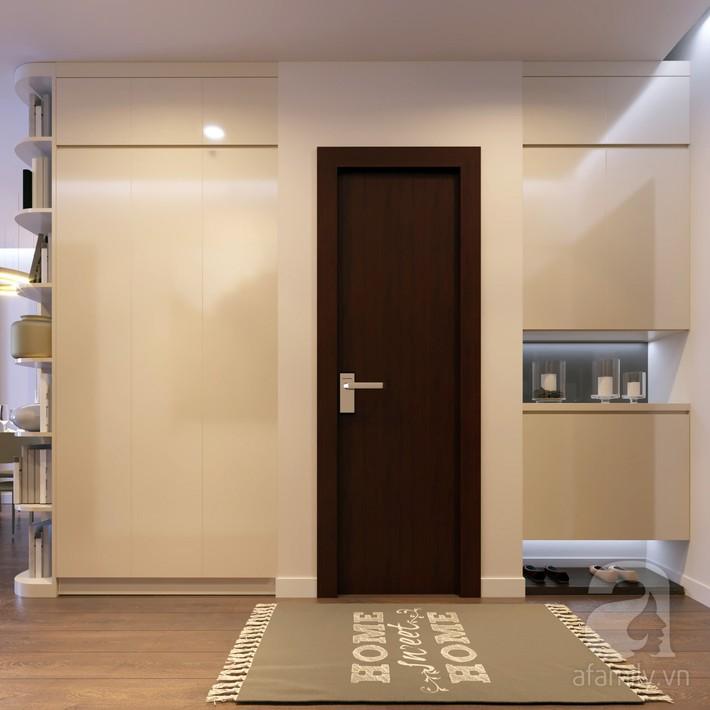 Chưa đến 250 triệu, chủ nhân của căn hộ 110m² này đã được KTS tư vấn thiết kế một không gian sống thanh lịch và ấn tượng - Ảnh 3.