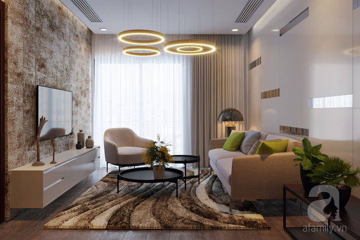 Chưa đến 250 triệu, chủ nhân của căn hộ 110m² này đã được KTS tư vấn thiết kế một không gian sống thanh lịch và ấn tượng - Ảnh 4.