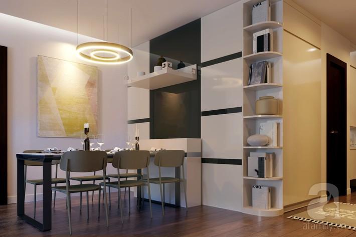 Chưa đến 250 triệu, chủ nhân của căn hộ 110m² này đã được KTS tư vấn thiết kế một không gian sống thanh lịch và ấn tượng - Ảnh 6.
