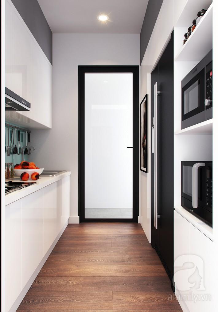 Chưa đến 250 triệu, chủ nhân của căn hộ 110m² này đã được KTS tư vấn thiết kế một không gian sống thanh lịch và ấn tượng - Ảnh 9.