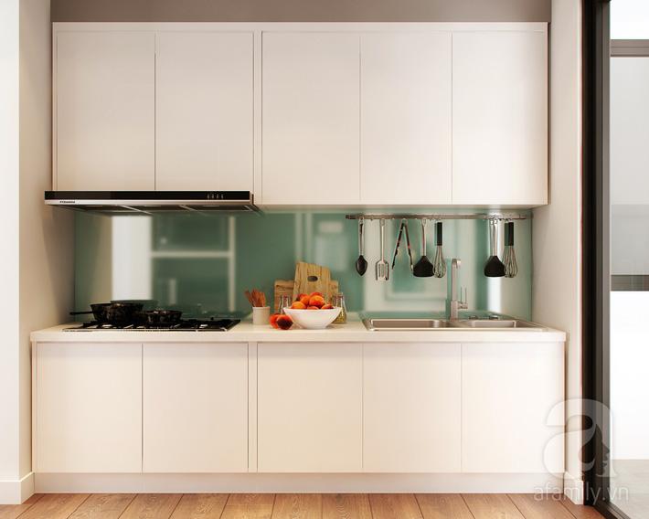 Chưa đến 250 triệu, chủ nhân của căn hộ 110m² này đã được KTS tư vấn thiết kế một không gian sống thanh lịch và ấn tượng - Ảnh 8.