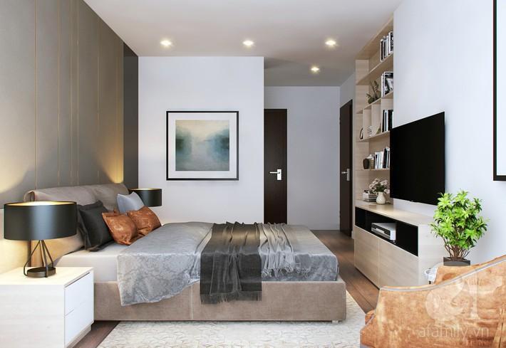 Chưa đến 250 triệu, chủ nhân của căn hộ 110m² này đã được KTS tư vấn thiết kế một không gian sống thanh lịch và ấn tượng - Ảnh 11.