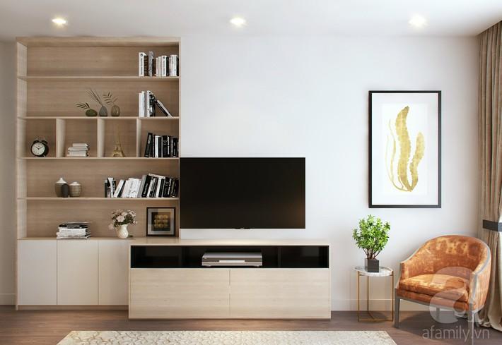 Chưa đến 250 triệu, chủ nhân của căn hộ 110m² này đã được KTS tư vấn thiết kế một không gian sống thanh lịch và ấn tượng - Ảnh 13.