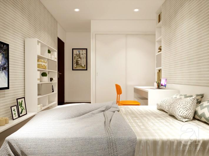 Chưa đến 250 triệu, chủ nhân của căn hộ 110m² này đã được KTS tư vấn thiết kế một không gian sống thanh lịch và ấn tượng - Ảnh 17.