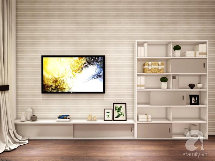 Chưa đến 250 triệu, chủ nhân của căn hộ 110m² này đã được KTS tư vấn thiết kế một không gian sống thanh lịch và ấn tượng - Ảnh 18.