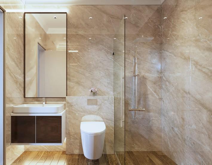 Chưa đến 250 triệu, chủ nhân của căn hộ 110m² này đã được KTS tư vấn thiết kế một không gian sống thanh lịch và ấn tượng - Ảnh 19.