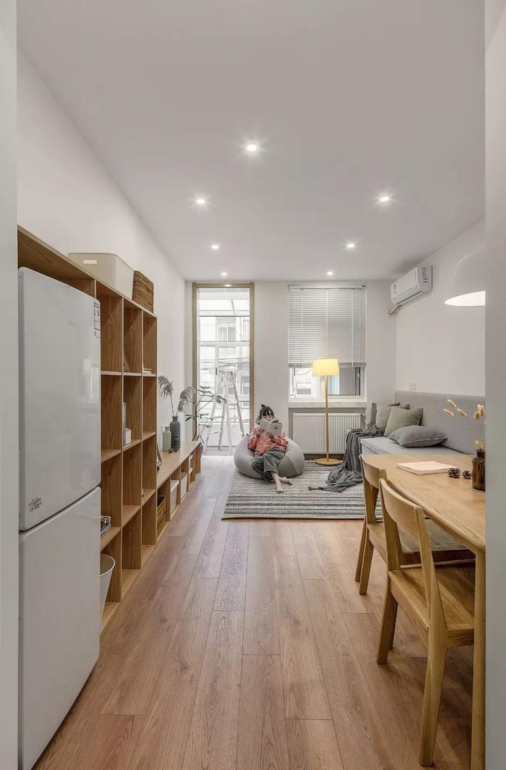 Căn hộ 60m² ở khu tập thể cũ tưởng như chẳng ai muốn ở biến hình thành không gian vạn người mơ ước sau cải tạo - Ảnh 4.