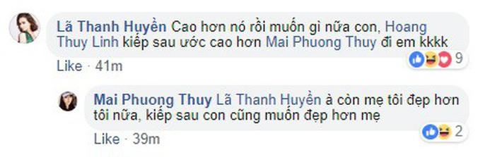 Mai Phương Thúy chỉ ước kiếp sau đẹp hơn Hoàng Thùy Linh, fan thi nhau kêu gào: Chị còn chưa đủ đẹp sao - Ảnh 2.
