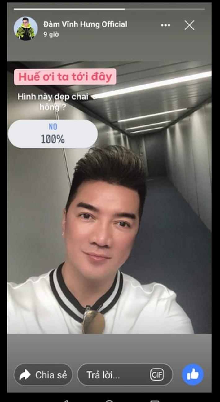 Fanpage của Đàm Vĩnh Hưng đăng ảnh tự sướng của anh trên story và nhận được phản hồi không thể phũ hơn từ người hâm mộ - Ảnh 6.