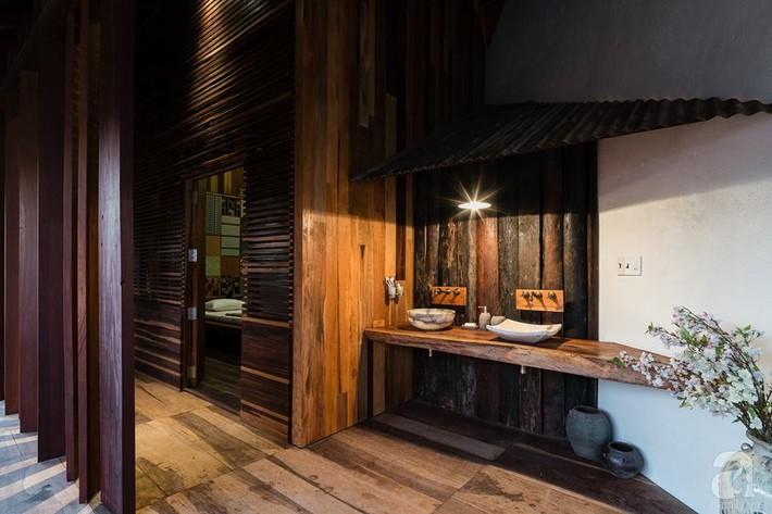 Ngôi nhà gỗ mang hơi thở đồng bằng Bắc Bộ tách biệt tiếng ồn, khói bụi dù xây giữa lòng thành phố Nha Trang - Ảnh 29.