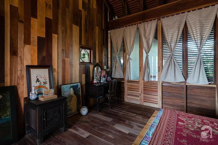 Ngôi nhà gỗ mang hơi thở đồng bằng Bắc Bộ tách biệt tiếng ồn, khói bụi dù xây giữa lòng thành phố Nha Trang - Ảnh 27.