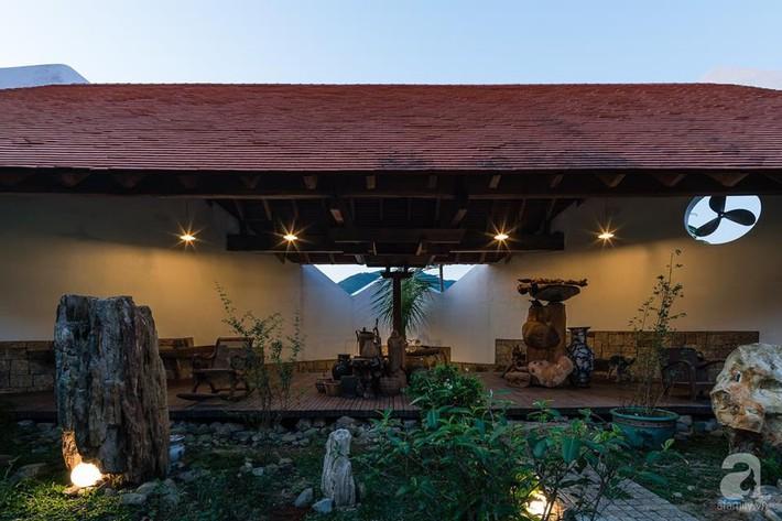 Ngôi nhà gỗ mang hơi thở đồng bằng Bắc Bộ tách biệt tiếng ồn, khói bụi dù xây giữa lòng thành phố Nha Trang - Ảnh 19.