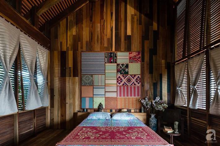 Ngôi nhà gỗ mang hơi thở đồng bằng Bắc Bộ tách biệt tiếng ồn, khói bụi dù xây giữa lòng thành phố Nha Trang - Ảnh 25.