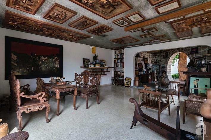Ngôi nhà gỗ mang hơi thở đồng bằng Bắc Bộ tách biệt tiếng ồn, khói bụi dù xây giữa lòng thành phố Nha Trang - Ảnh 15.