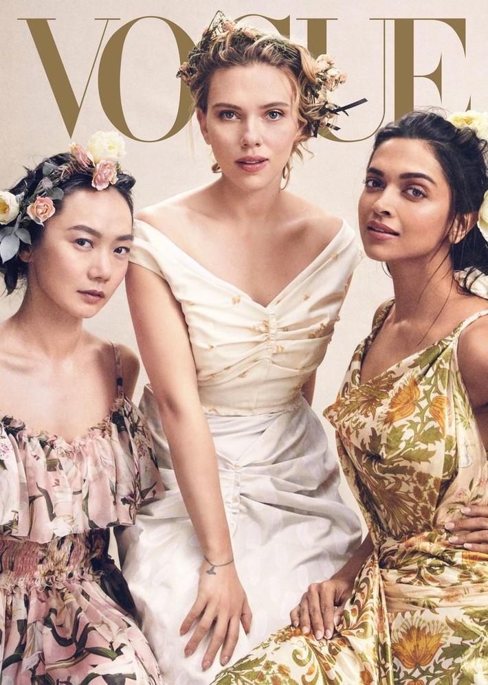 Lên bìa Vogue Mỹ cùng dàn minh tinh thế giới, bao nhiêu thần thái của Angela Baby bay biến sạch sẽ - Ảnh 2.
