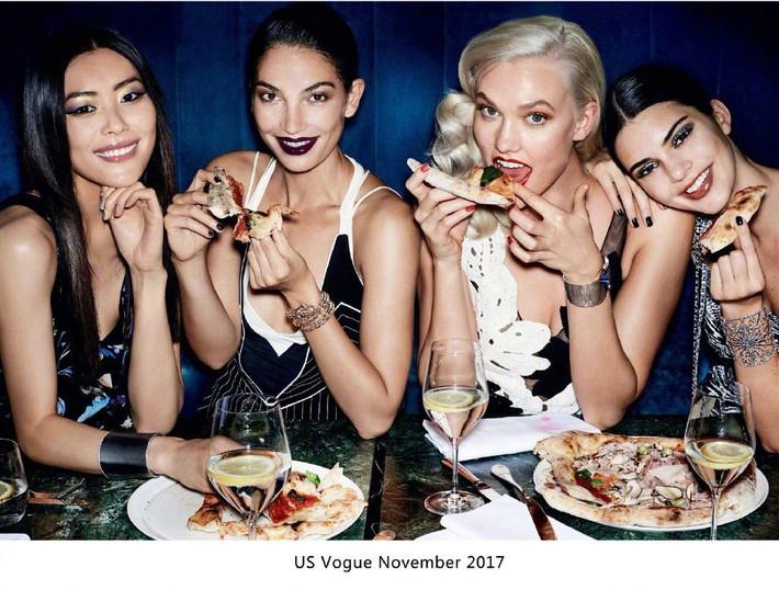 """Khác với Angela Baby, Liu Wen chính là sao Hoa ngữ lên Vogue Mỹ cùng loạt mỹ nhân đình đám mà không hề bị """"dìm"""" - Ảnh 3."""