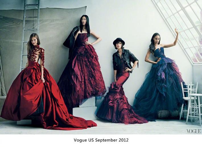 """Khác với Angela Baby, Liu Wen chính là sao Hoa ngữ lên Vogue Mỹ cùng loạt mỹ nhân đình đám mà không hề bị """"dìm"""" - Ảnh 5."""