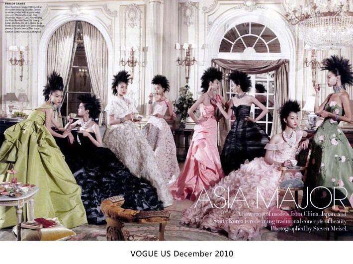 """Khác với Angela Baby, Liu Wen chính là sao Hoa ngữ lên Vogue Mỹ cùng loạt mỹ nhân đình đám mà không hề bị """"dìm"""" - Ảnh 6."""