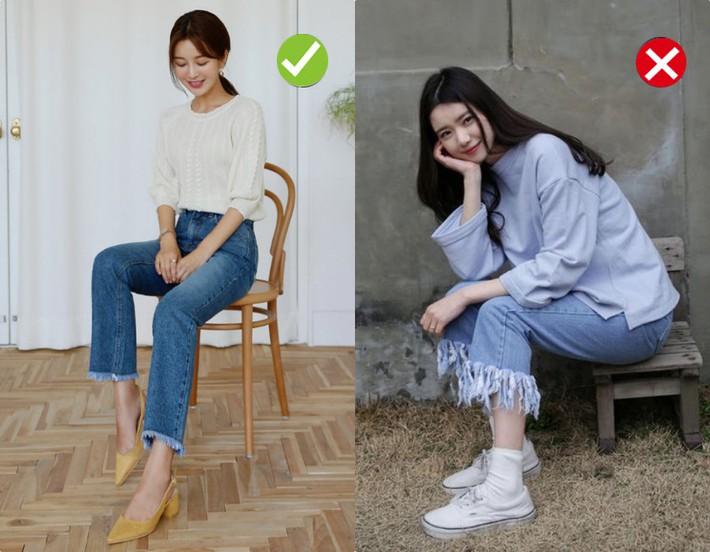 Chạm ngưỡng 30: Kiểu quần jeans nào là chân ái tôn dáng nịnh chân, kiểu quần nào cần loại bỏ ngay và luôn - Ảnh 3.