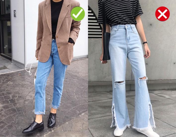 Chạm ngưỡng 30: Kiểu quần jeans nào là chân ái tôn dáng nịnh chân, kiểu quần nào cần loại bỏ ngay và luôn - Ảnh 4.