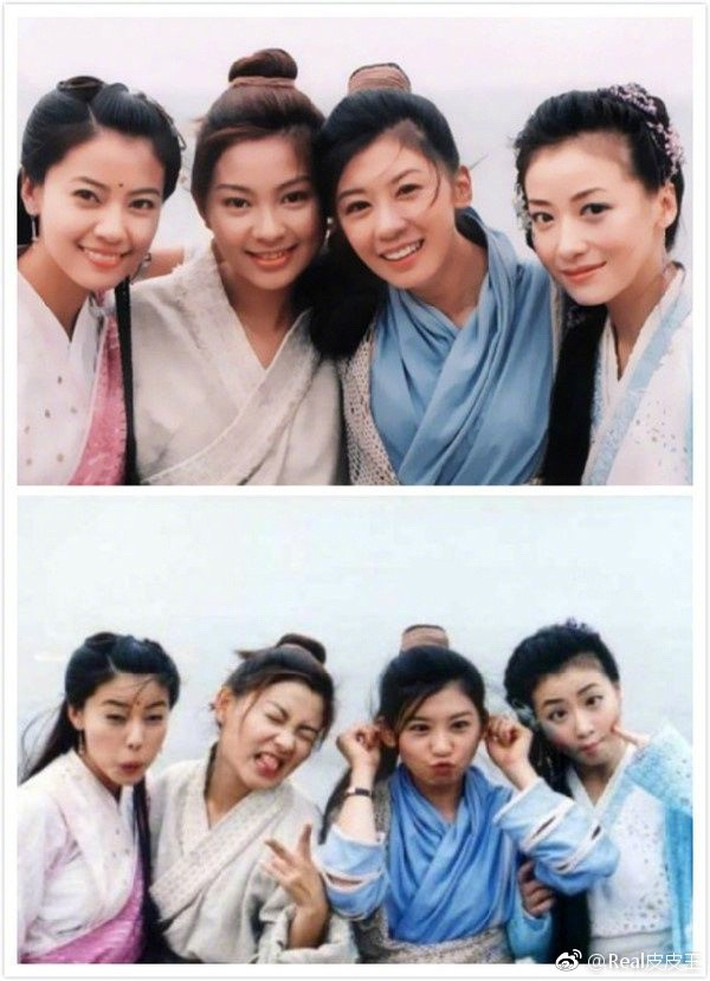 Nghèo nàn khâu tạo hình, làm tóc, dàn mỹ nhân Tân Ỷ Thiên Đồ Long Ký như hóa chị em sinh bốn khó lòng phân biệt - Ảnh 5.